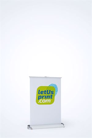 Mini Roll-Up banner A4 - fra LetUsPrint-com